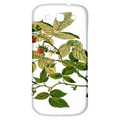 Berries Berry Food Fruit Herbal Samsung Galaxy S3 S Iii Classic Hardshell Back Case