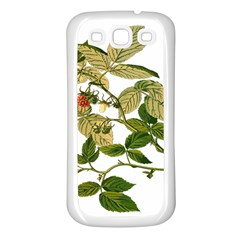 Berries Berry Food Fruit Herbal Samsung Galaxy S3 Back Case (white)