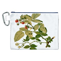 Berries Berry Food Fruit Herbal Canvas Cosmetic Bag (xxl)