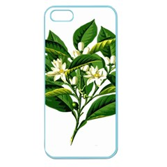 Bitter Branch Citrus Edible Floral Apple Seamless Iphone 5 Case (color)