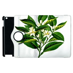 Bitter Branch Citrus Edible Floral Apple Ipad 3/4 Flip 360 Case