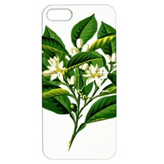 Bitter Branch Citrus Edible Floral Apple Iphone 5 Hardshell Case With Stand
