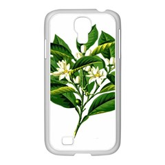 Bitter Branch Citrus Edible Floral Samsung Galaxy S4 I9500/ I9505 Case (white)