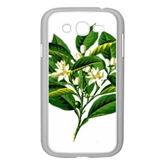 Bitter Branch Citrus Edible Floral Samsung Galaxy Grand Duos I9082 Case (white)