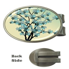 Branches Field Flora Forest Fruits Money Clips (oval)