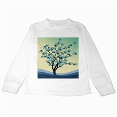 Branches Field Flora Forest Fruits Kids Long Sleeve T Shirts