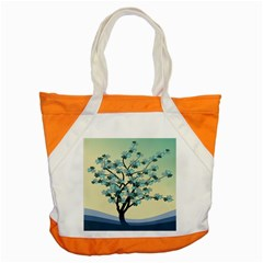 Branches Field Flora Forest Fruits Accent Tote Bag