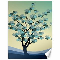 Branches Field Flora Forest Fruits Canvas 36  X 48