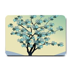 Branches Field Flora Forest Fruits Small Doormat