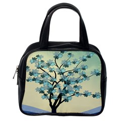 Branches Field Flora Forest Fruits Classic Handbags (one Side)