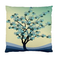 Branches Field Flora Forest Fruits Standard Cushion Case (two Sides)