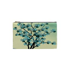 Branches Field Flora Forest Fruits Cosmetic Bag (small)