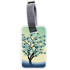 Branches Field Flora Forest Fruits Luggage Tags (two Sides)