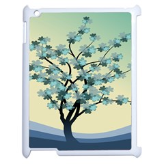 Branches Field Flora Forest Fruits Apple Ipad 2 Case (white)