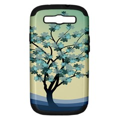 Branches Field Flora Forest Fruits Samsung Galaxy S Iii Hardshell Case (pc+silicone)