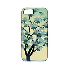 Branches Field Flora Forest Fruits Apple Iphone 5 Classic Hardshell Case (pc+silicone)