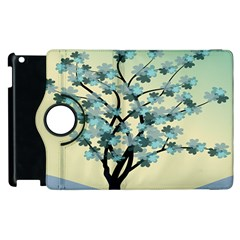 Branches Field Flora Forest Fruits Apple Ipad 2 Flip 360 Case