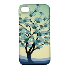 Branches Field Flora Forest Fruits Apple Iphone 4/4s Hardshell Case With Stand