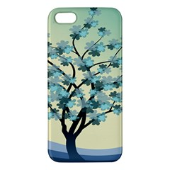 Branches Field Flora Forest Fruits Apple Iphone 5 Premium Hardshell Case