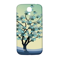 Branches Field Flora Forest Fruits Samsung Galaxy S4 I9500/i9505  Hardshell Back Case