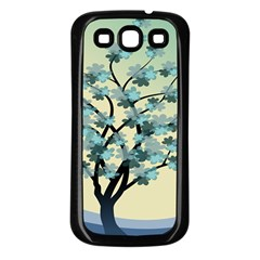 Branches Field Flora Forest Fruits Samsung Galaxy S3 Back Case (black)