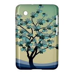 Branches Field Flora Forest Fruits Samsung Galaxy Tab 2 (7 ) P3100 Hardshell Case