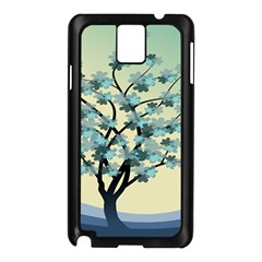 Branches Field Flora Forest Fruits Samsung Galaxy Note 3 N9005 Case (black)