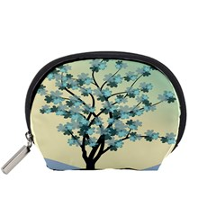 Branches Field Flora Forest Fruits Accessory Pouches (small)