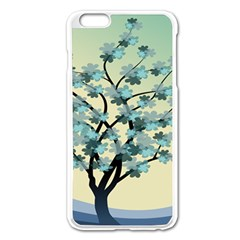 Branches Field Flora Forest Fruits Apple Iphone 6 Plus/6s Plus Enamel White Case