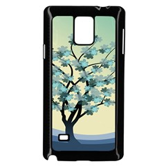 Branches Field Flora Forest Fruits Samsung Galaxy Note 4 Case (black)