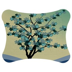 Branches Field Flora Forest Fruits Jigsaw Puzzle Photo Stand (bow)