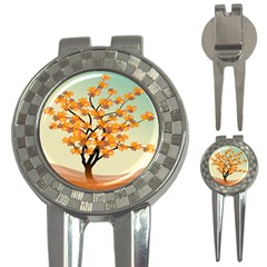 Branches Field Flora Forest Fruits 3 In 1 Golf Divots