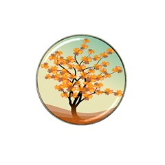 Branches Field Flora Forest Fruits Hat Clip Ball Marker (10 Pack)