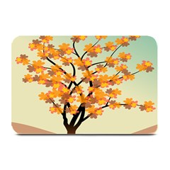 Branches Field Flora Forest Fruits Plate Mats