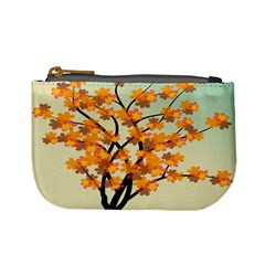 Branches Field Flora Forest Fruits Mini Coin Purses