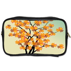 Branches Field Flora Forest Fruits Toiletries Bags 2 Side
