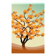 Branches Field Flora Forest Fruits Shower Curtain 48  X 72  (small)