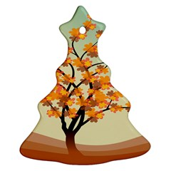Branches Field Flora Forest Fruits Ornament (christmas Tree)