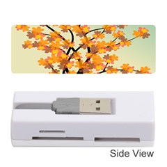 Branches Field Flora Forest Fruits Memory Card Reader (stick)