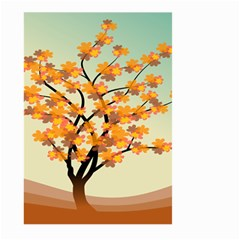 Branches Field Flora Forest Fruits Large Garden Flag (two Sides)