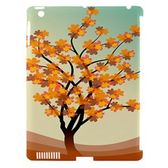 Branches Field Flora Forest Fruits Apple Ipad 3/4 Hardshell Case (compatible With Smart Cover)