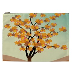 Branches Field Flora Forest Fruits Cosmetic Bag (xxl)