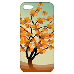 Branches Field Flora Forest Fruits Apple Iphone 5 Hardshell Case