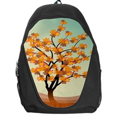 Branches Field Flora Forest Fruits Backpack Bag