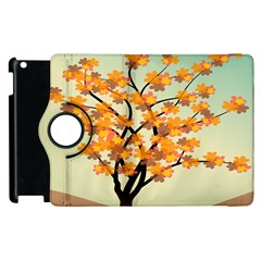 Branches Field Flora Forest Fruits Apple Ipad 3/4 Flip 360 Case