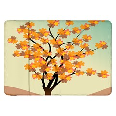 Branches Field Flora Forest Fruits Samsung Galaxy Tab 8 9  P7300 Flip Case