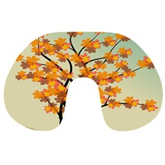 Branches Field Flora Forest Fruits Travel Neck Pillows