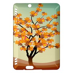 Branches Field Flora Forest Fruits Kindle Fire Hdx Hardshell Case