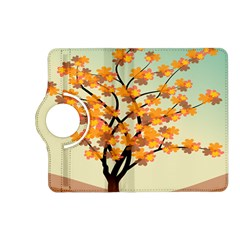 Branches Field Flora Forest Fruits Kindle Fire Hd (2013) Flip 360 Case
