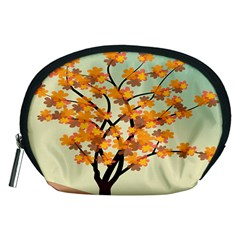 Branches Field Flora Forest Fruits Accessory Pouches (medium)